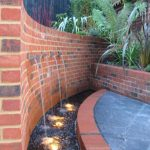 Garden pond lighting by Sam Coles Lighting