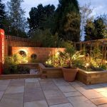 Garden lighting by Sam Coles Lighting