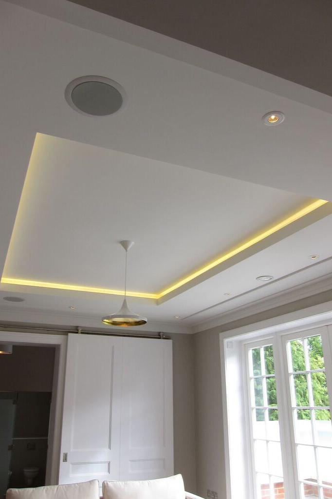 Ceiling lighting by Sam Coles Lighting