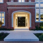 Front door lighting by Sam Coles Lighting 01