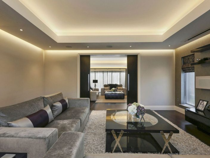Lounge Lighting by Sam Coles Lighting