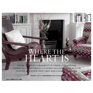 Magazine article - Where the heart is