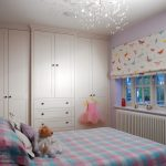 Attractive light in childs bedroom